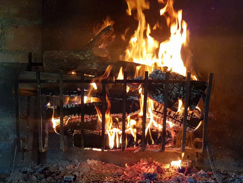 Accendiamo il fuoco...